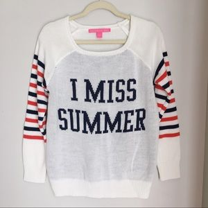 """Rebellious One """"I Miss Summer"""" Sweater"""